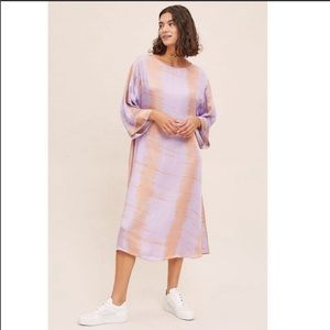Anthropologie Sonne Tie-Dye Tunic Dress Small